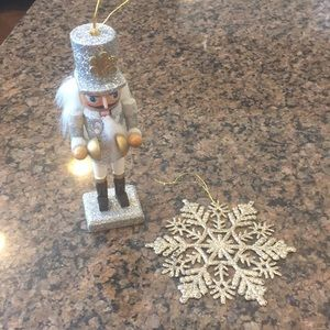 Other - Glitter ornament lot